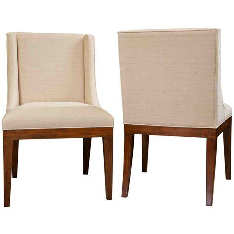 Agnes Berner Genuine Leather Upholstered Dining Chair (Set of 2)