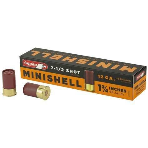 Ammunition Aguila Minishell Ammunition.