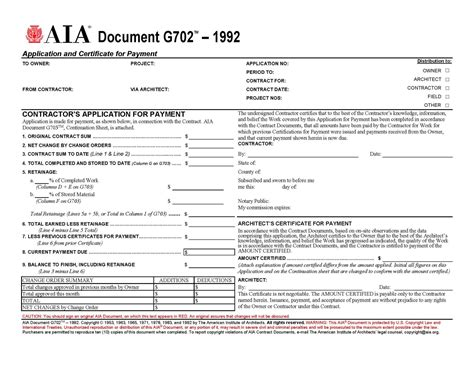 aia residential construction contract template | example, Invoice templates