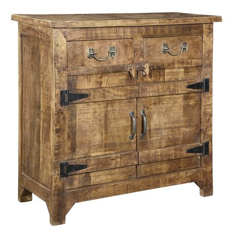 Aiden Mango Wood Cabinet