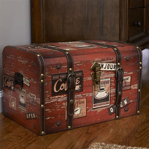 Aileen Medium Decorative Home Storage Trunk