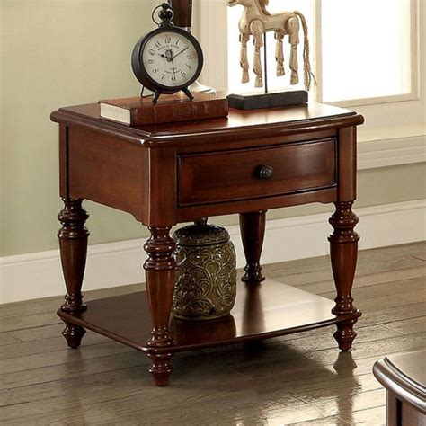 Ailey Wood End Table