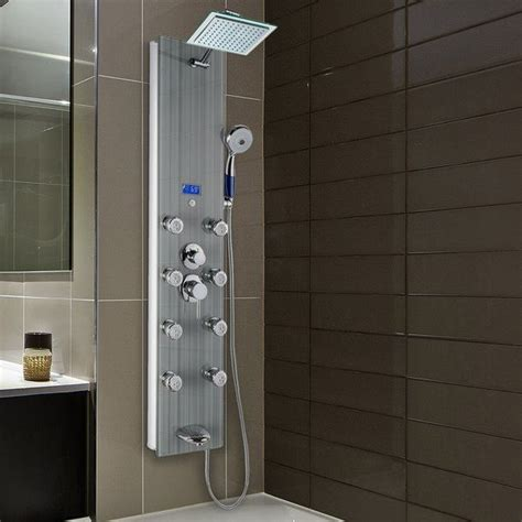 AKDY Tower Pressure Balanced Thermostatic Rain Shower Panel