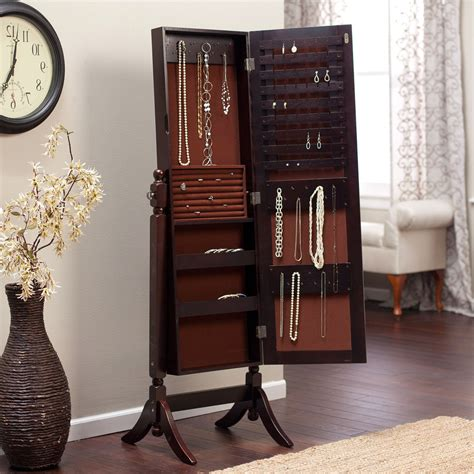 Ake Jewelry Armoire with Mirror