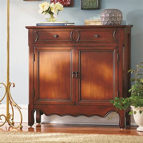 Alas Wooden 1 Drawer Accent Cabinet