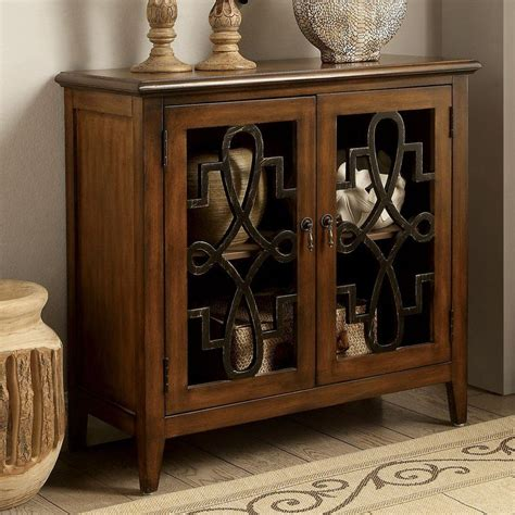 Albinson Vintage-Style Accent Cabinet