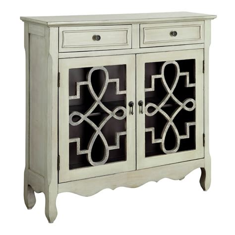 Alborghus Vintage-Style Accent Cabinet