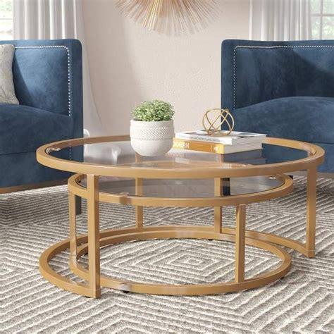 Albro 2 Piece Coffee Table Set