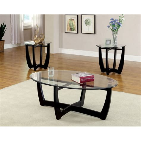 Alcantar 3 Piece Coffee Table Set