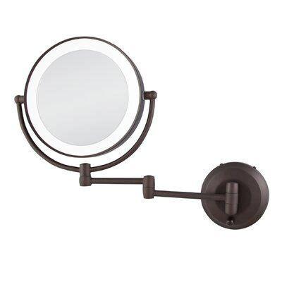 Aldona Modern & Contemporary Makeup/Shaving Mirror