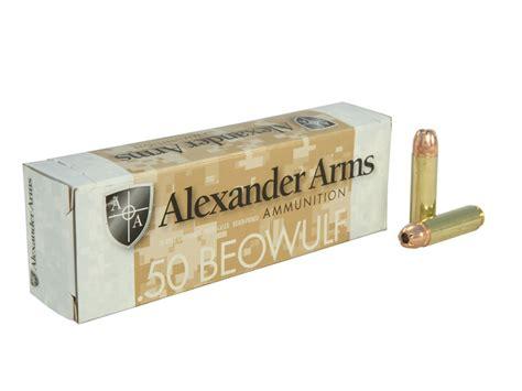 Ammunition Alexander Arms Beowulf Ammunition.