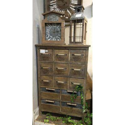 Alexis Rustic 13 Drawer Accent Chest