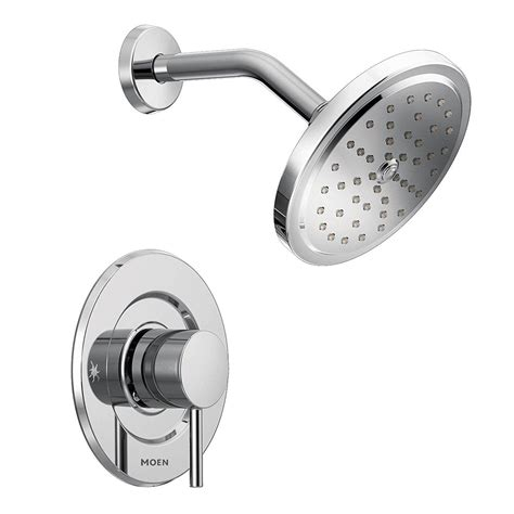 Align Shower Faucet with Moentrol