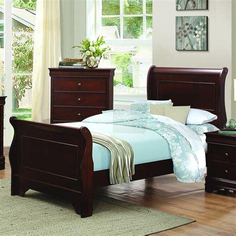 Alivia Sleigh Bed