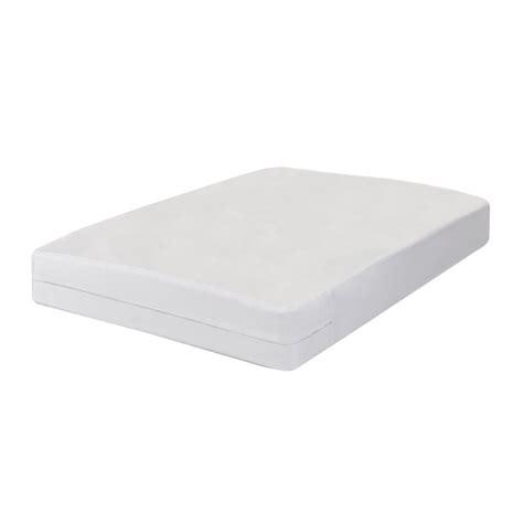 All-In-One Bed Bug Blocker Non-Woven Box Spring Encasement Hypoallergenic Waterproof Mattress Protector byFresh Ideas