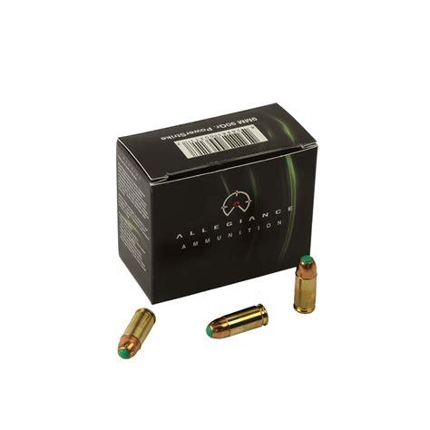 Ammunition Allegiance Ammunition 9mm.
