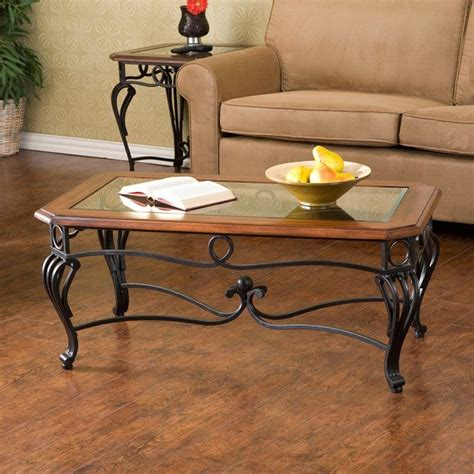 Allegra Metal 4 Piece Coffee Table Set