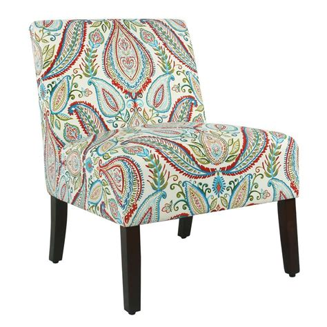 Alleyton Paisley Slipper Chair