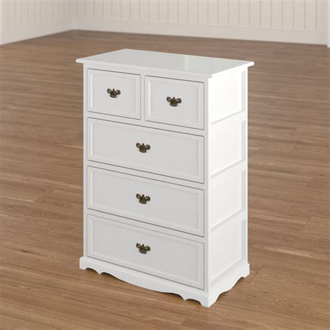 Allis Natural 5 Drawer Accent Chest