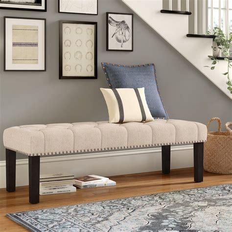 Almaraz Upholstered Bench