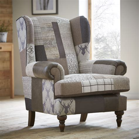 Alpine Wingback Chair