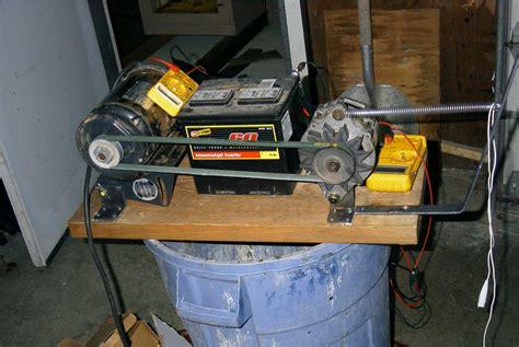 Alternator Test Bench Diy