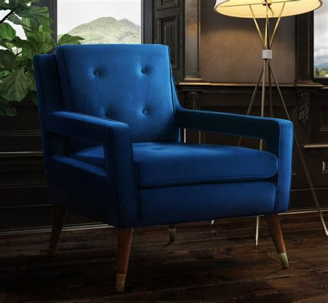Alverstone Velvet Armchair