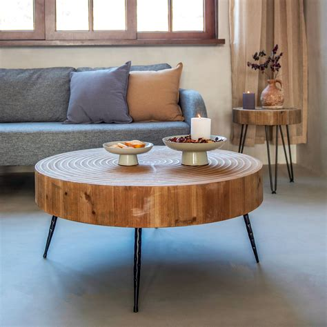 Amandari Farmhouse 2 Piece Coffee Table Set