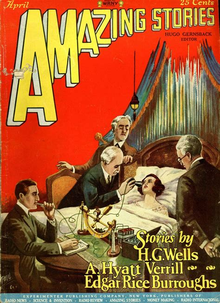 Read Books Amazing Stories, April 1927 Online