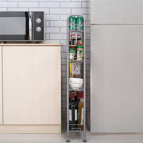 Gap Credit Card Silver Amazon Homfa 4 Tier Gap Kitchen Slim Slide Out