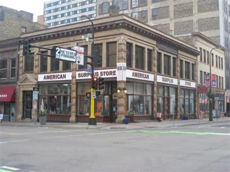 Army-Surplus American Army And Navy Surplus Store Minneapolis.