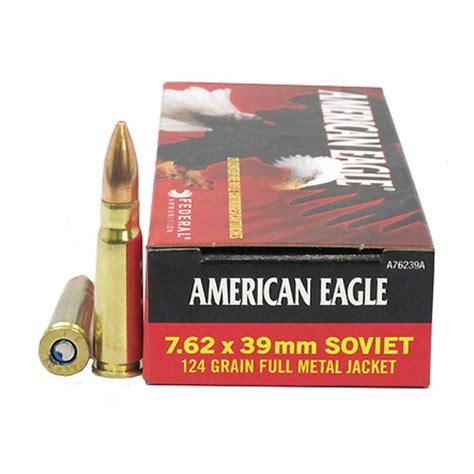 Ammunition American Eagle Ammunition 7.62x39 Soft Point.