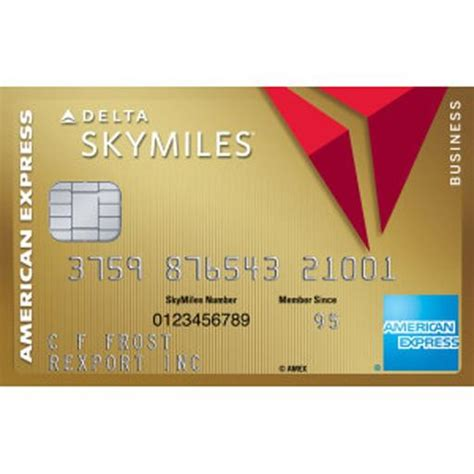 American Express Credit Card Skymiles Gold Delta Skymilesr Credit Card From American Express