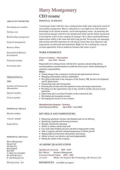 american resume sample doc sample ceo resume laura smith proulx - American Resume Sample