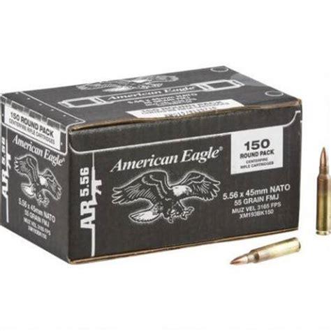 Ammunition American-Eagle-5-56mm-55gr-Fmj-Ammunition-150rds-Xm193bk150.