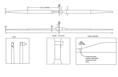 American Flatbow Woodworking Plans