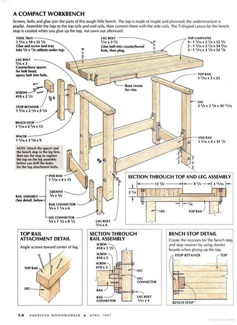 American Woodworker Workbench Plans
