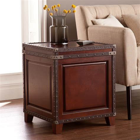 Amherst End Table with Storage