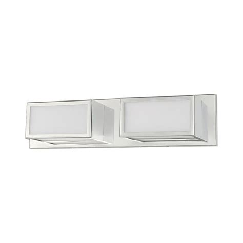 Aminah 2-Light LED Bath Bar