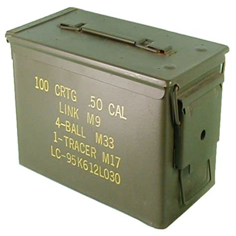 Ammunition Ammunition Containers Metal.