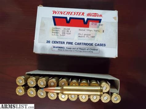 Ammunition Ammunition For 30x338.