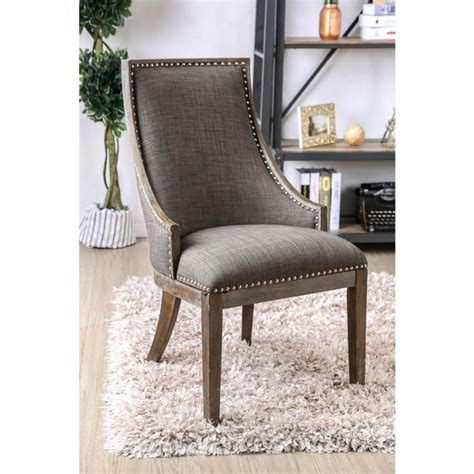 Amy Upholstered Bench with Nailhead Trim
