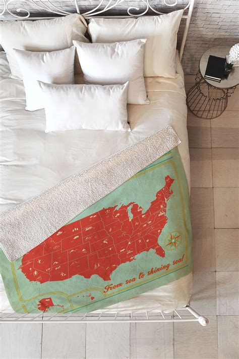 Anderson Design Group Arches Throw Blanke by