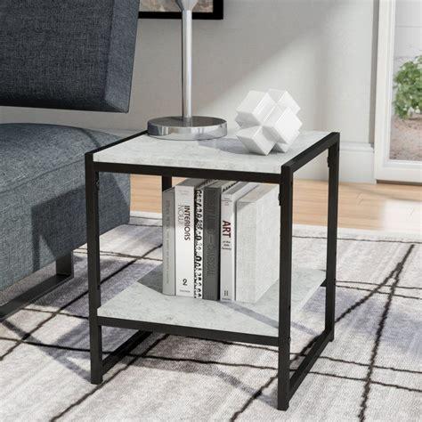 Andresen Modern 2-Tier End Table