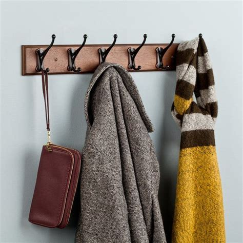 Andrew Rail Wall Mounted Coat Rack