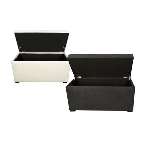 Angela 8 Button Tufted Belfast Storage Trunk Bench