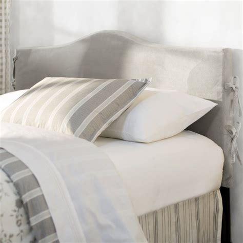 Angelique Slipcover Upholstered Panel Headboard