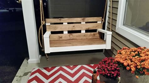 anna white porch swing