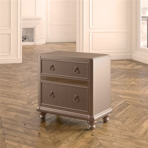 Annunziata 2 Drawer Nightstand