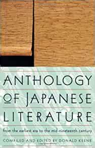 Read Books Anthology of Japanese Literature: From the Earliest Era to the Mid-Nineteenth Century Online